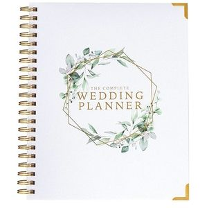 🆕️ Wedding Planner & Organizer Floral Gold